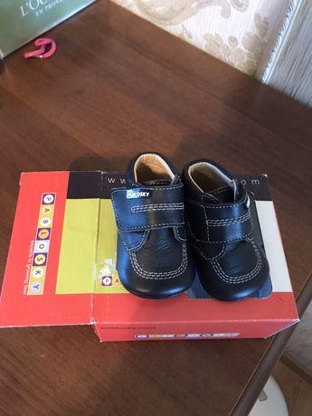 Обувь пинетки ботиночки Pablosky