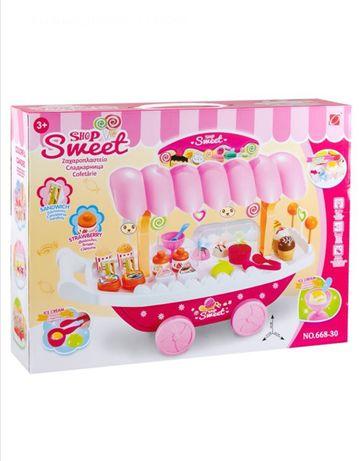 Детски детска играчка играчки Сладкарница със звук и светлина