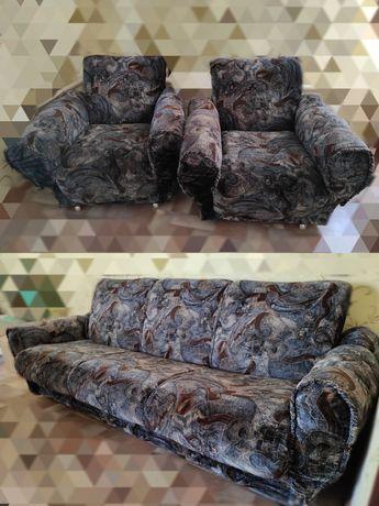 Продаю диван и 2 кресла (Румыния) Б/У
