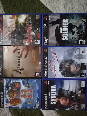 Jocuri ps2 sony call of duty, medal of honor... Colectie