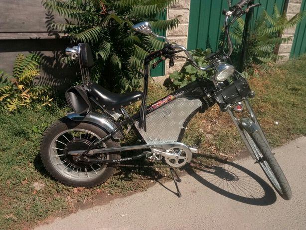 Электровелосипед Чоппер.
