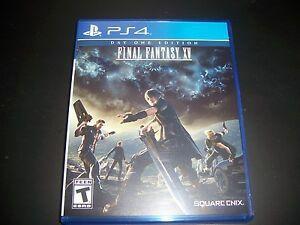 Final Fantasy XV PlayStation 4 (cu 4K 60 fps pe PlayStation 5)