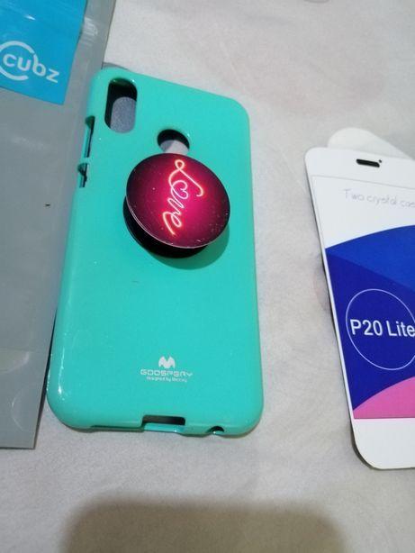 Husa Huawei P20lite cu inel.