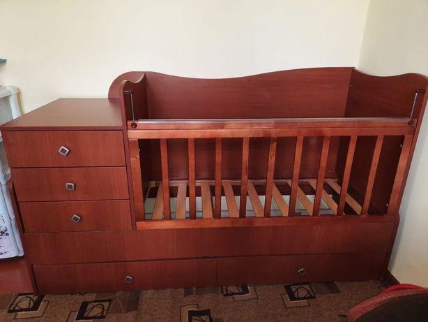 Детская кровать трансфорсер