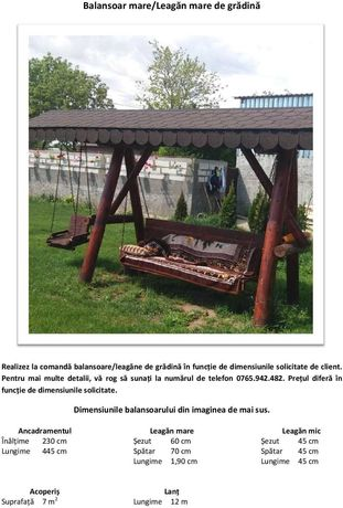 Balansoar/Leagăn de grădină
