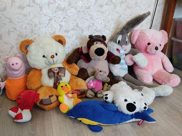 Мягкие игрушки продам
