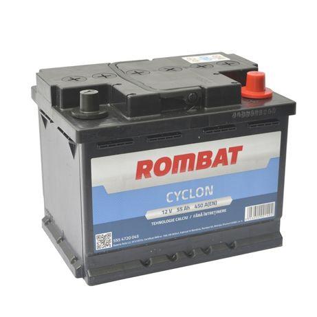 Baterie Auto Rombat 55Ah 2 Ani garantie