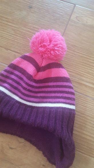2-4мес.H&M Бебешка шапка за момиче