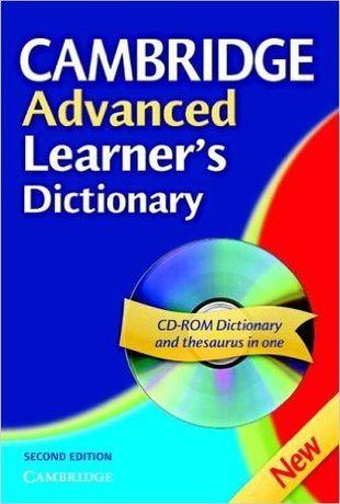 Cambridge Advanced Learner's Dictionary cu CD-ROM, editia a 2-a