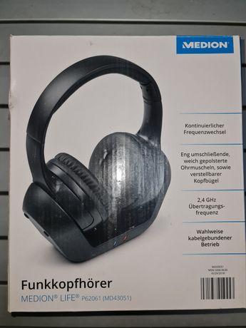 Безкабелни стерео слушалки Medion Germany MD43051