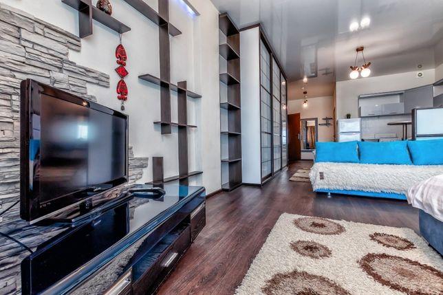 """1-комнатная квартира в ЖК """"Северное сияние"""" с видом на """"Байтерек"""""""
