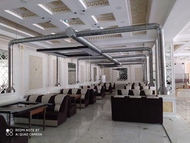 Монтаж вентиляции в Алматы