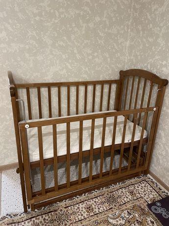 Детская кроватка деревянная Можга