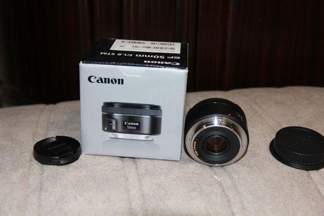 Объектив Canon EF 50mm 1.8 STM . Новый. В коробке