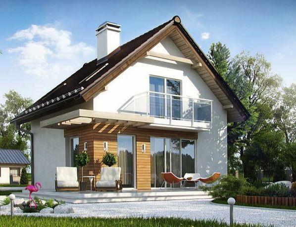 Kit casă lemn 105 mp