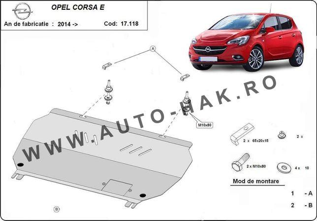 Scut motor metalic Opel Corsa E 2014-prezent