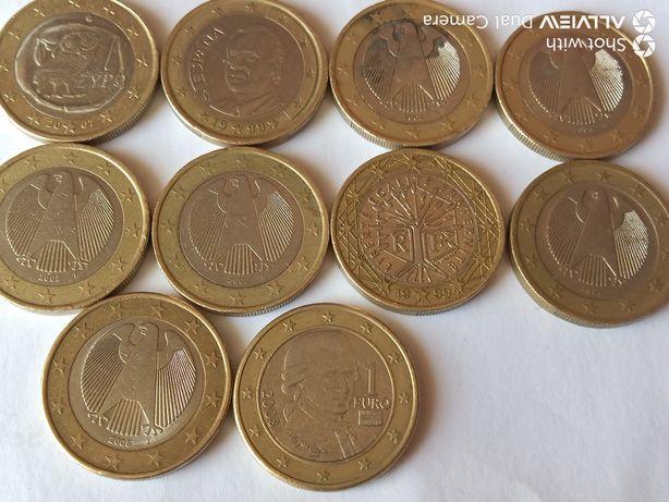 monede 1 EURO pt. colecție , lot 2