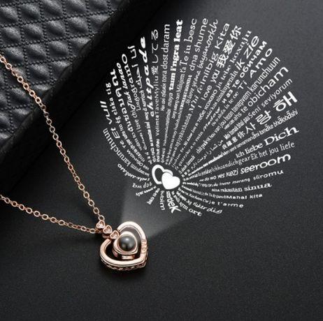 Кулон кольцо на 100 языка мира , ювелирные изделия