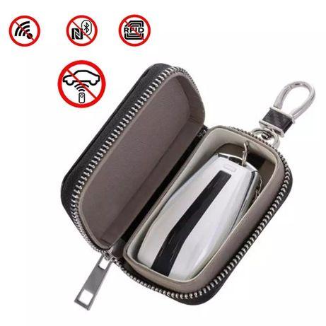 Калъф за ключ RFID защита от кражба, заглушава сигнала на ключа.