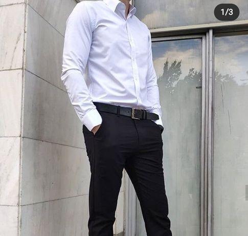 Срочно продам мужские рубашки белые размеры начиная от  xs s до 45- го