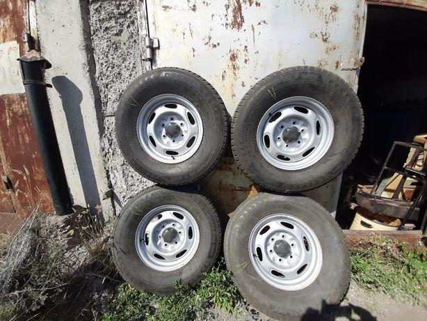 Колеса форд ренжер 5 штук зима