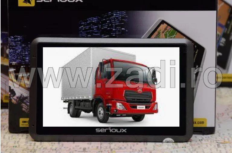 GPs -truck, ecran 4.3 inch, procesor 800 mhz-program truck si auto Bistrita - imagine 1