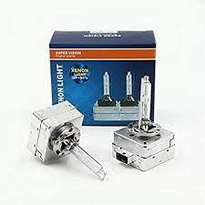 Becuri xenon D3S/R 6000k 4300K 8000k 35w SuperVision Original UP +50%