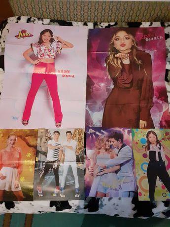 Lot 6 postere și megapostere cu Soy Luna