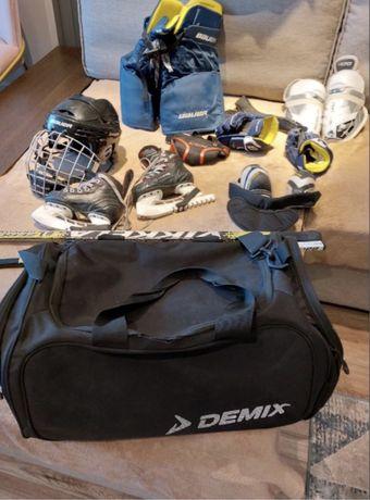 Полный комплект экипировки доя хоккея