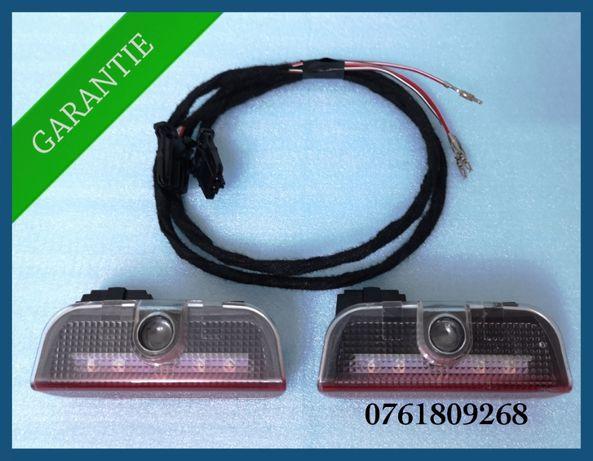 Lampi / lumini led avertizare usi VW Jetta Eos Scirocco Touran Caddy