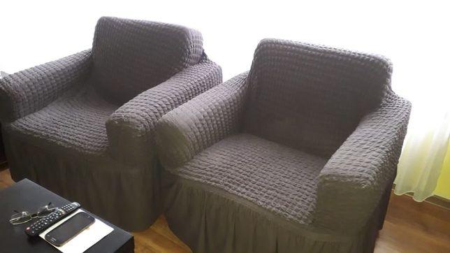 Canapea 2locuri, cadou 2 fotolii