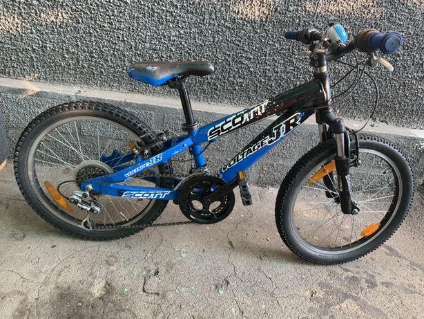 Bicicleta Scott jr voltage