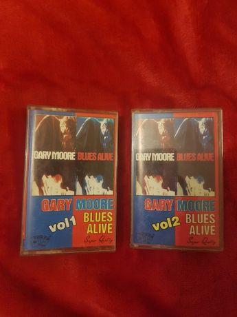 Gary Moore-Blues Alive - vol. 1+2 set de 2 casete nou album