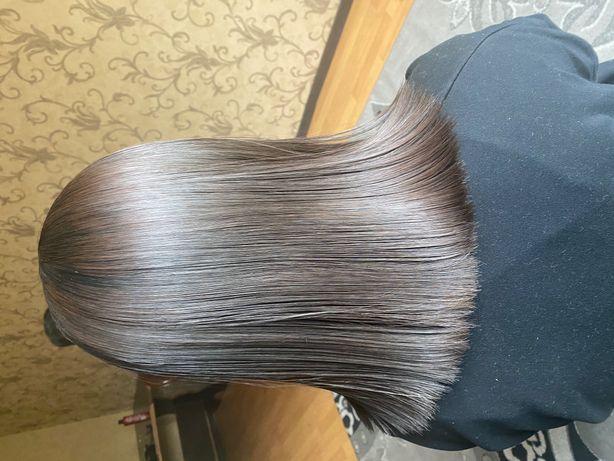Акция ботокс и лечение волос нано пластика любая длина и густота 10тыс