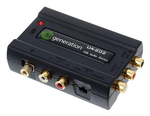 Внешняя звуковая карта USB аудиоинтерфейс FUN Generation новая в упак.