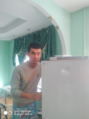 Ремонт жөндеу холодильник морозильник гарантия чек квитанция беріледі