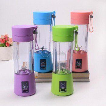 Електрически преносим мини блендер за сокове с чаша