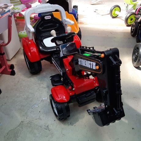 Tractor excavator electric 6 volti