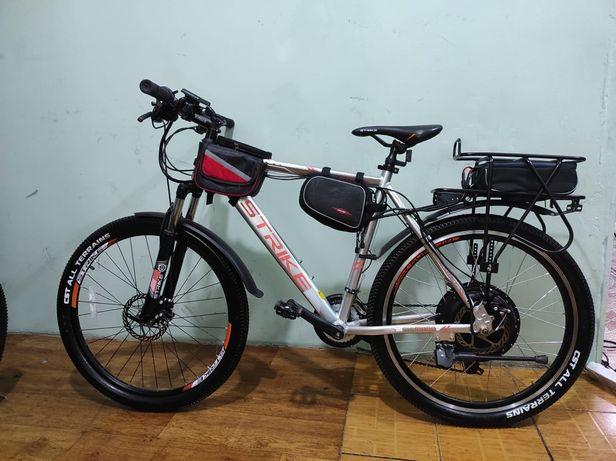 Электровелосипед 1500 W. Аккумулятор 20Ah 48V. Кредит.