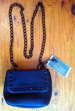 Оригинална дамска чанта на Лайк дриймс - естествена кожа.