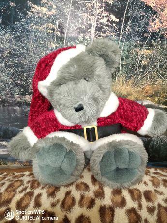 Ursuleț Moș Crăciun De Pluș