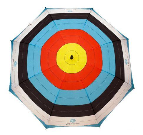 umbrelă mare (133 cm), cu ţintă target (tir cu arcul)