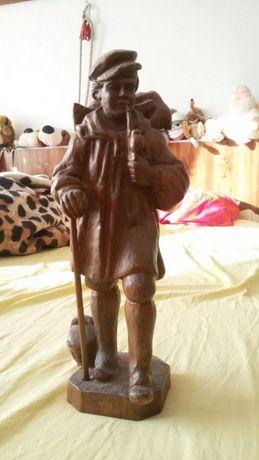 Statuita lemn. 35 cm