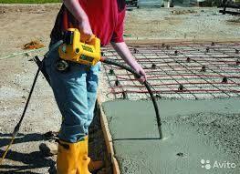 Прокат вибратор по бетону 1.5/4 метра отбойник трамбовка бензорез