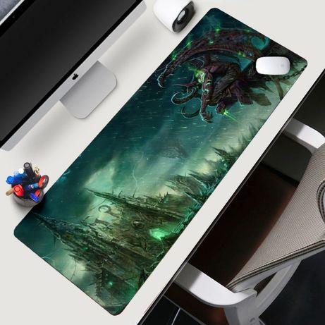 World of warcraft XXL Геймърски пад подложка за мишка gaming mouse pad