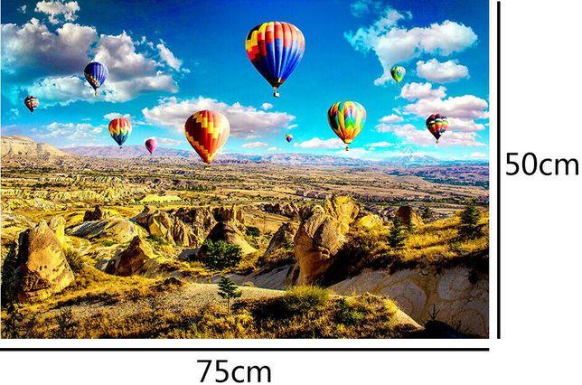 Puzzle Cappadocia 1000piese. Marime 75x50cm. Nou ambalat!
