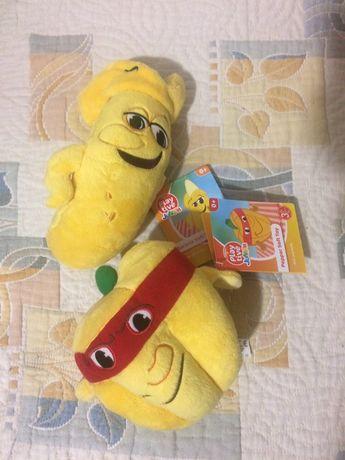 Плюшени Играчки от Лидъл плодове и зеленчуци