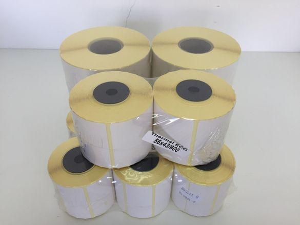 Термо Етикети 100х90/700бр. за товарителници Еконт