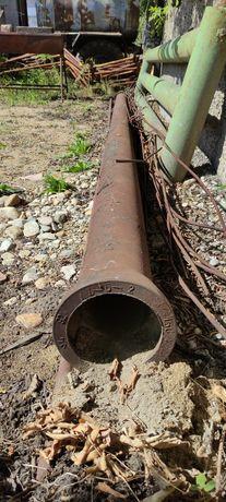 Труба чугунная канализационная.