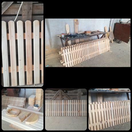 Дървени огради 2 метра